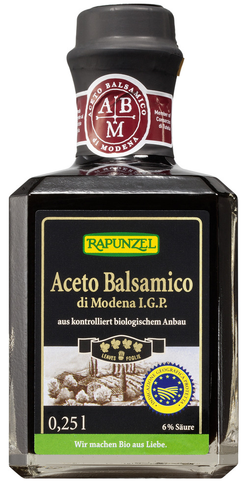 Rapunzel Luomu Aceto Balsamico di Modena I.G.P 250ml