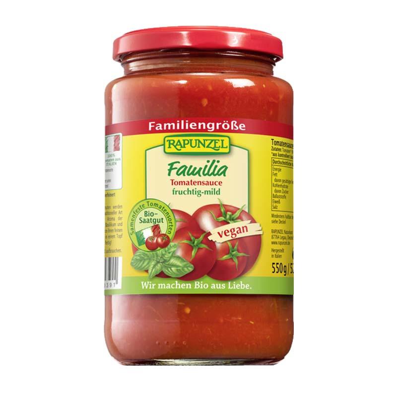 Rapunzel Familia tomaattikastike 550 g