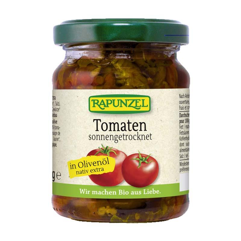 Rapunzel Luomu Kuivattu tomaatti oliiviöljyssä 120 g