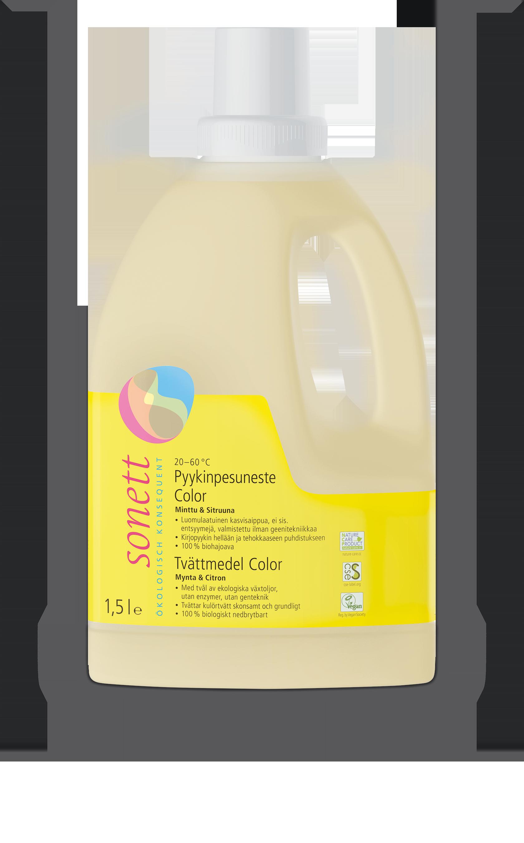 Sonett Color-pyykinpesuneste 1,5l