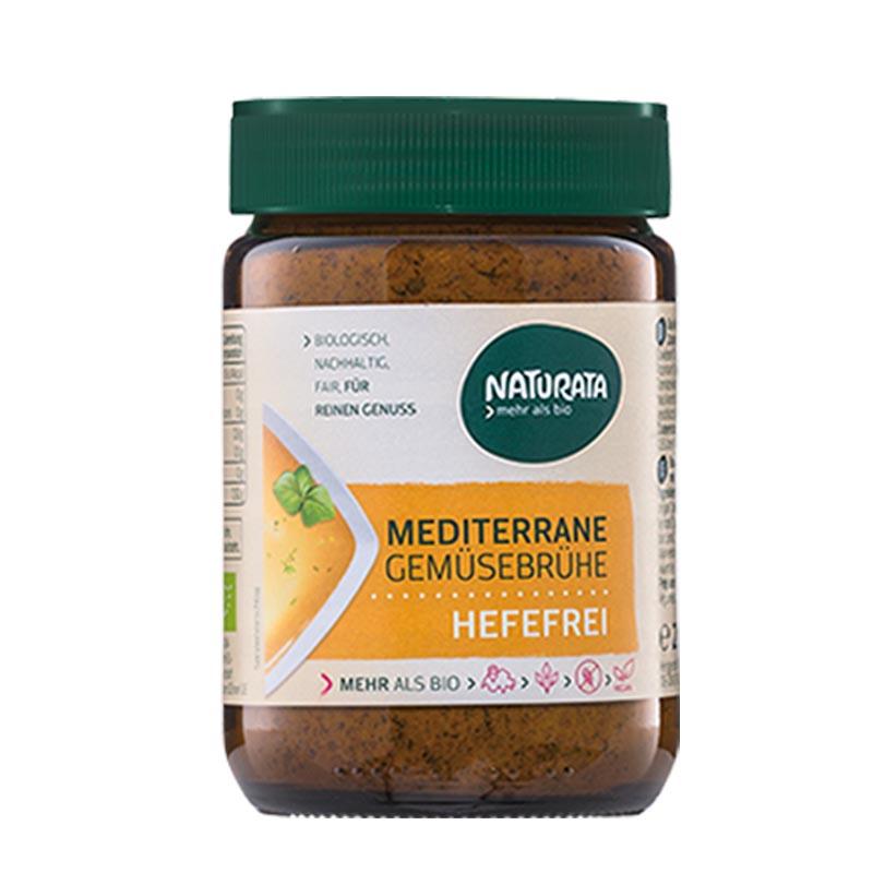 Naturata Luomu Välimeren kasvisliemijauhe hiivaton 200 g